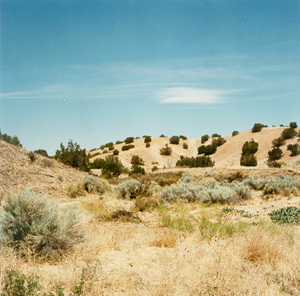 Hills near La Cienega, New Mexico
