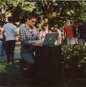 Man with A Mac