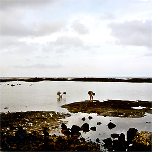 Mom and Keiko in the tidepools
