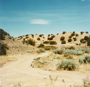 Typical Northern New Mexico landscape