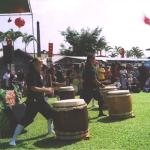 Taiko group performance