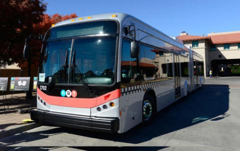 New A.R.T. bus, image courtesy City of Albuquerque